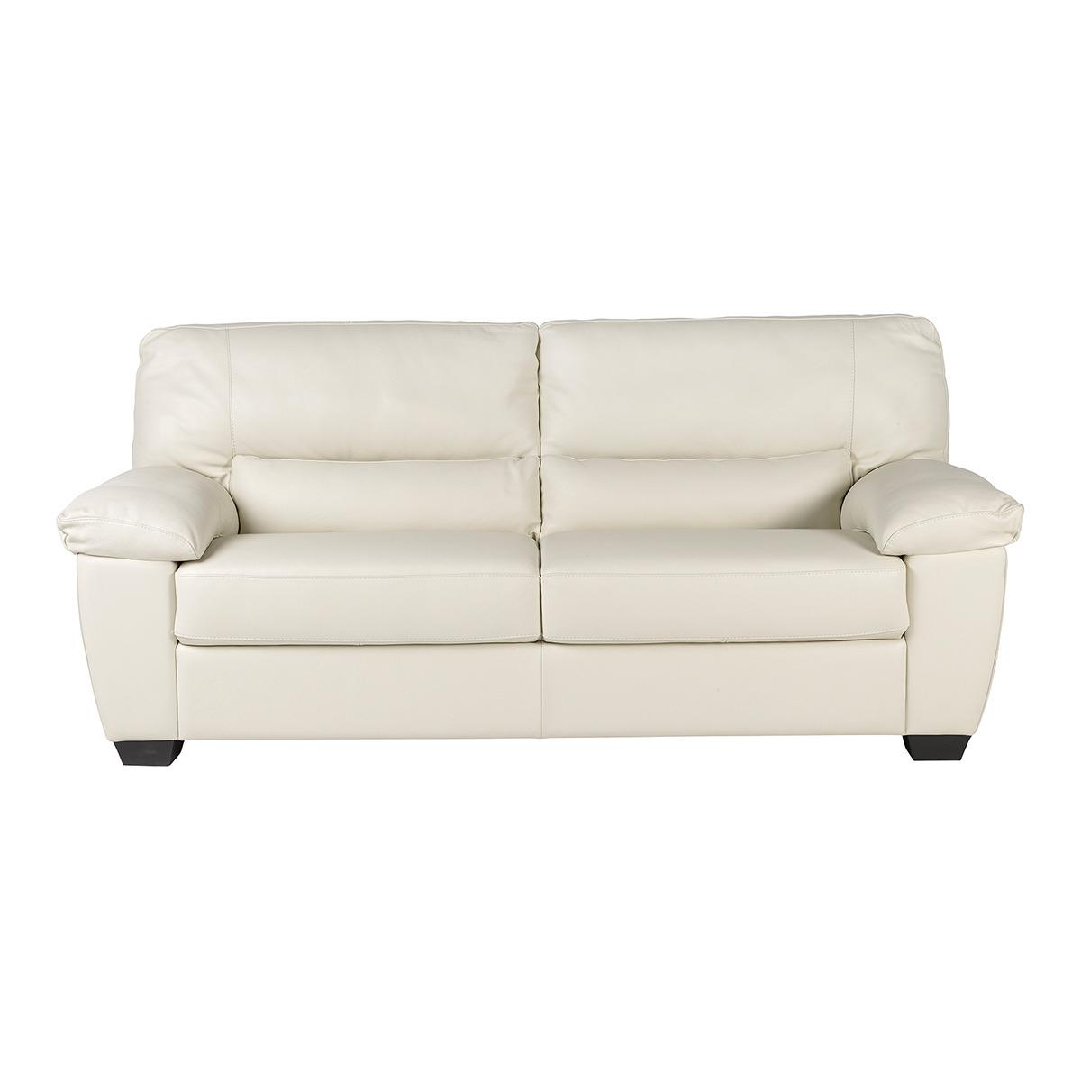 Sof de piel de 3 plazas vera tienda de sofas en for Sillones de 3 plazas baratos