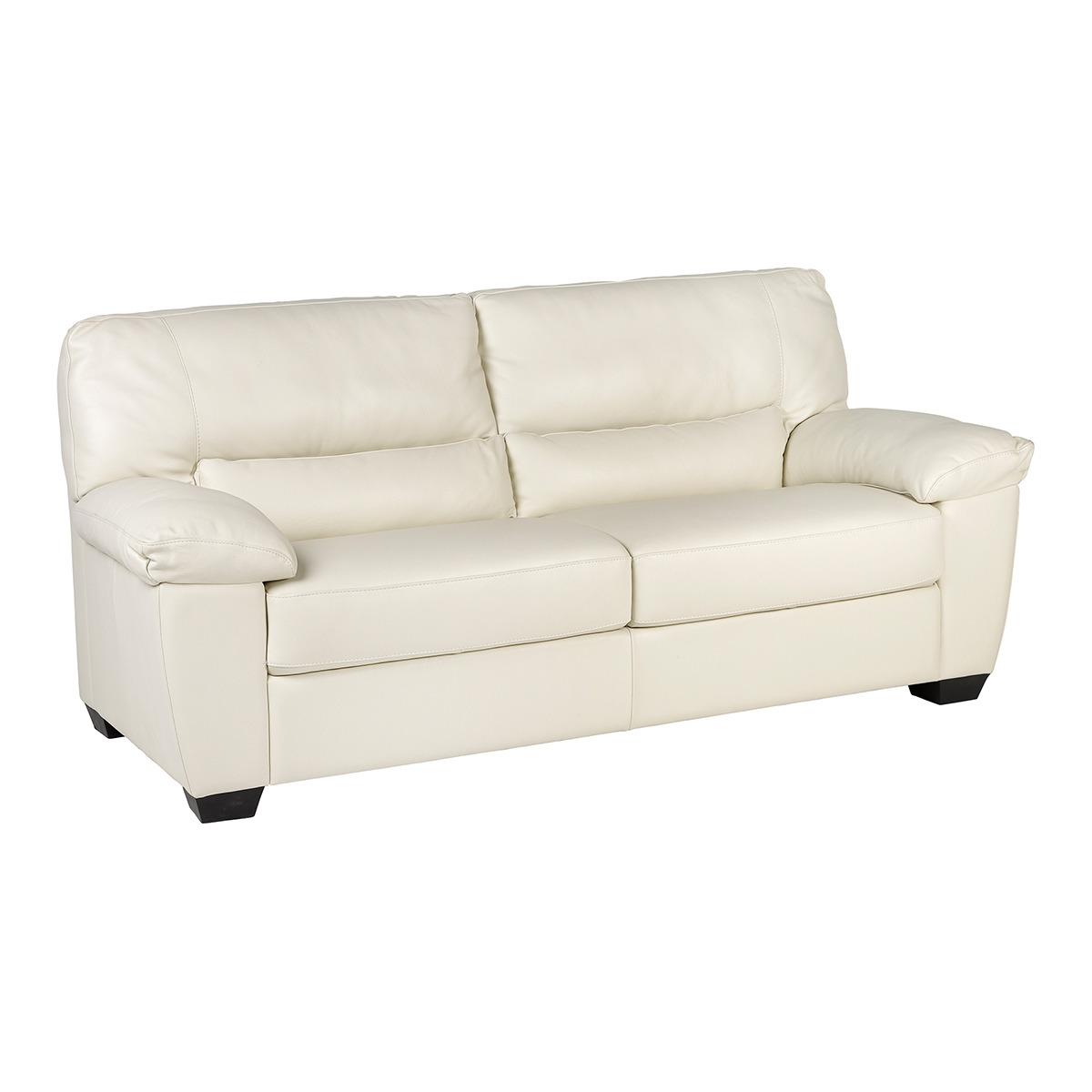 Sof de piel de 3 plazas vera tienda de sofas en for Catalogos de sofas de piel
